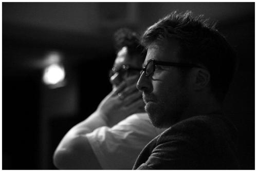 Nathaniel J Miller and Michael Pinchbeck at HATCH Scratch [Photo credit Julian Hughes]